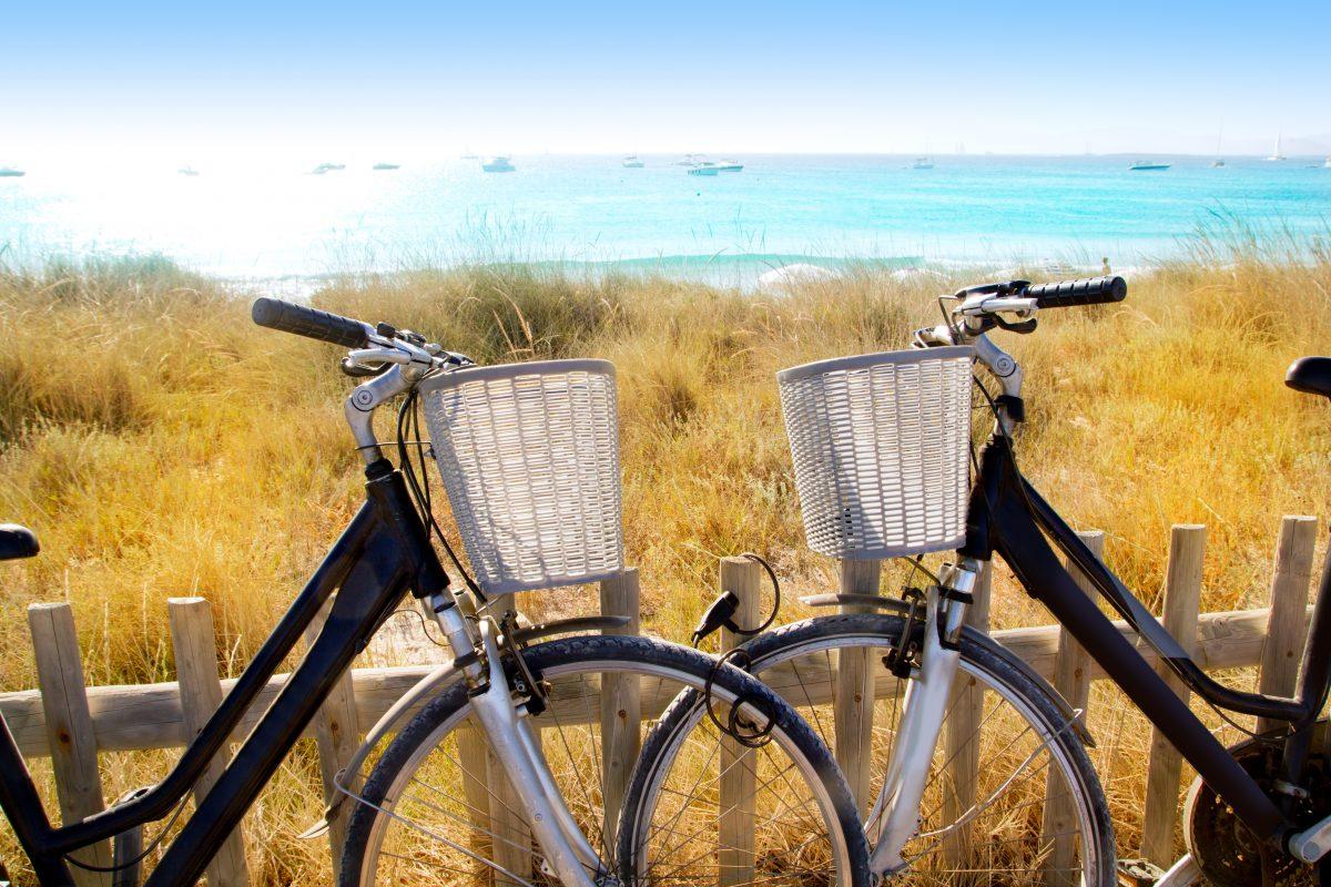 Fahrradfahren auf Formentera