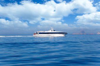 Von Ibiza aus fährt eine kleine Fähre nach Formentera.