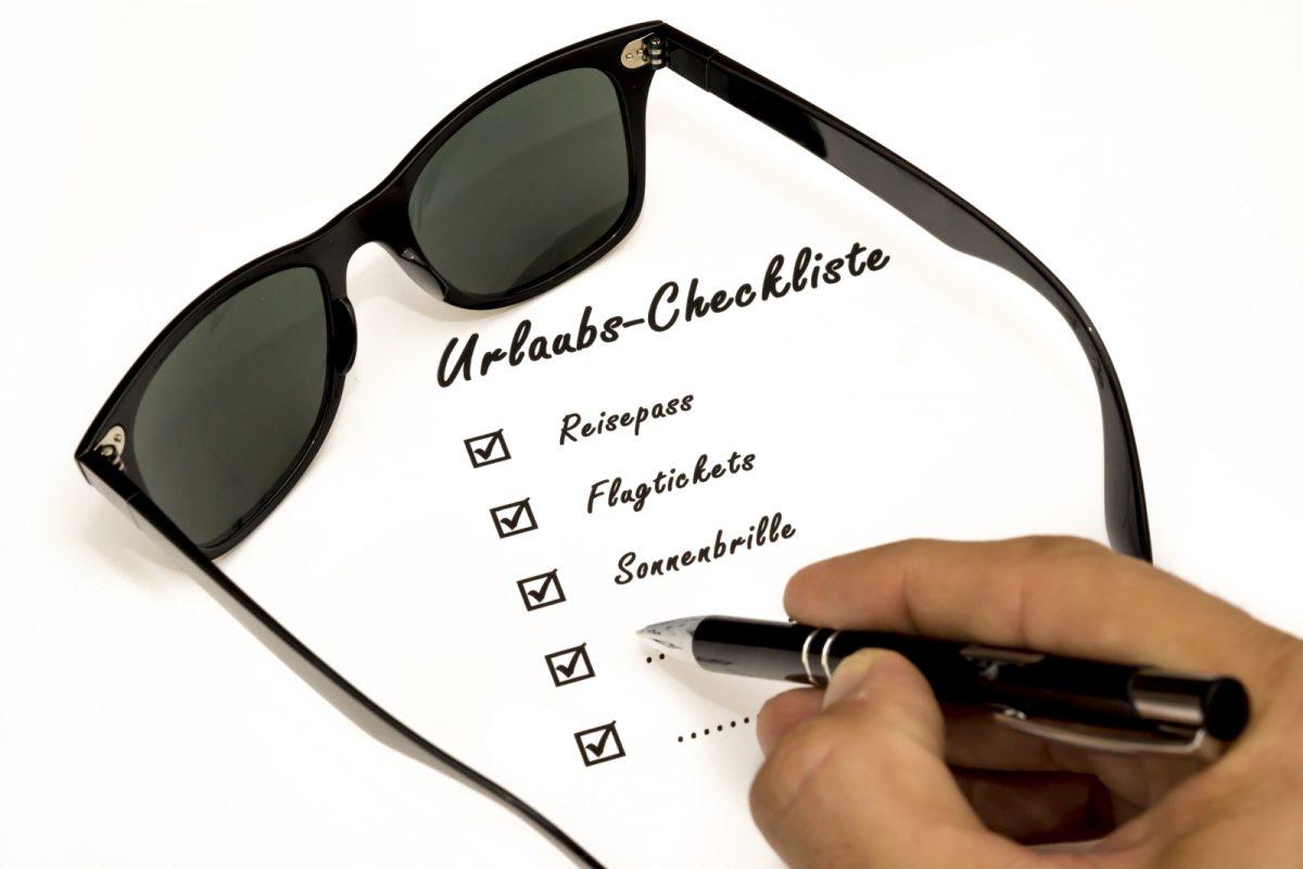 Checkliste für den Urlaub - formentera-island.de