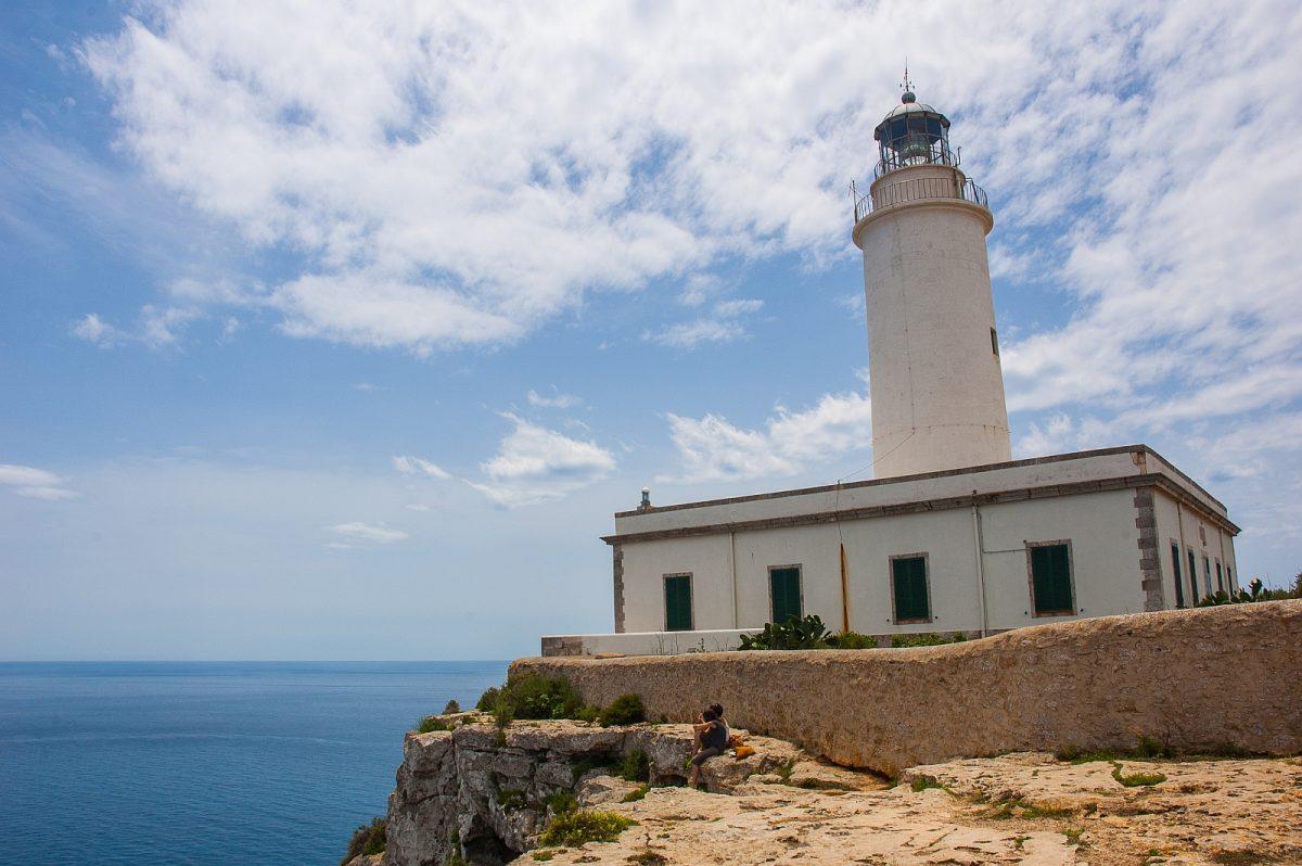 Sanierungsarbeiten am Leuchtturm La Mola werden fortgesetzt