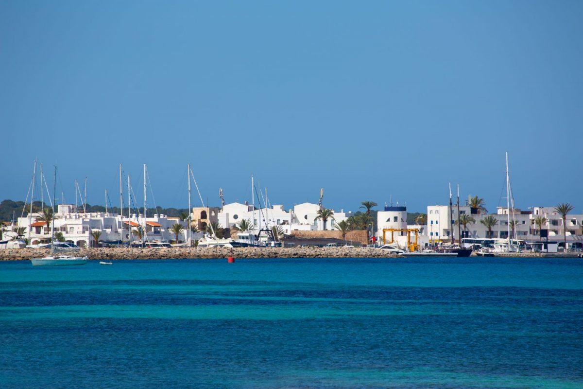 La Savina ist der Haupthafen der Insel Formentera.