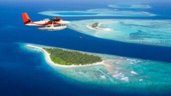 Auf den Malediven sind Wasserflugzeuge schon lange im Einsatz.